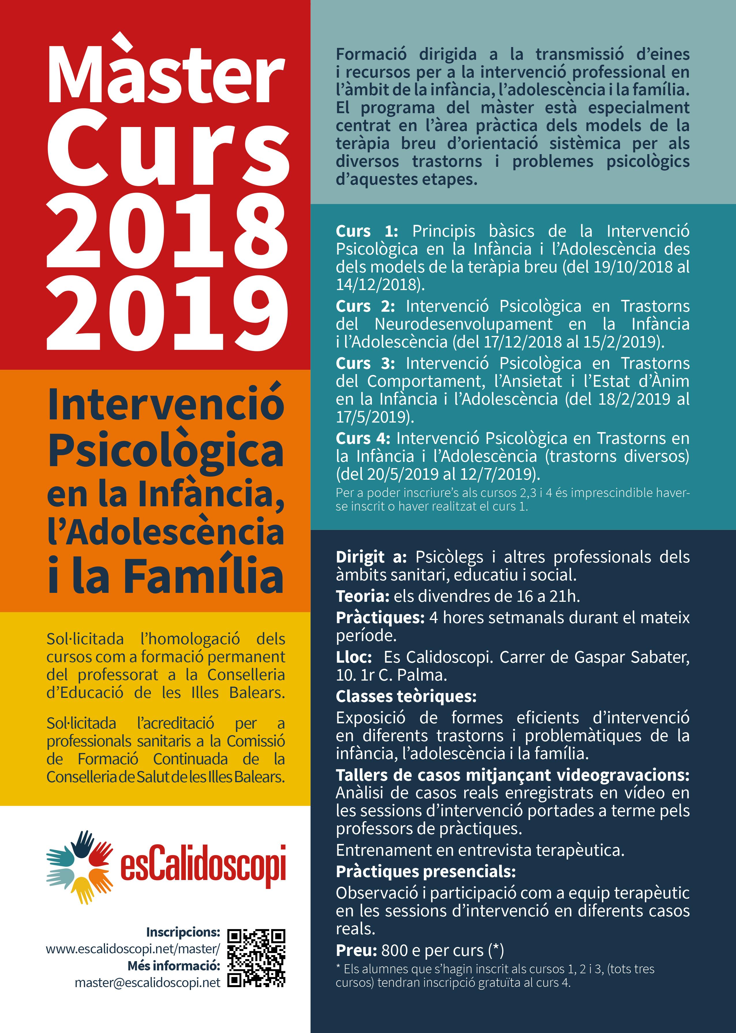 CartellMaster EC 2018-2019 QR Revista